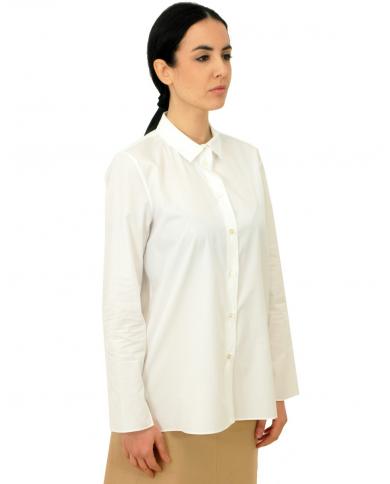 'S MAX MARA Camicia manica lunga Farneto bianca 91110101600 002