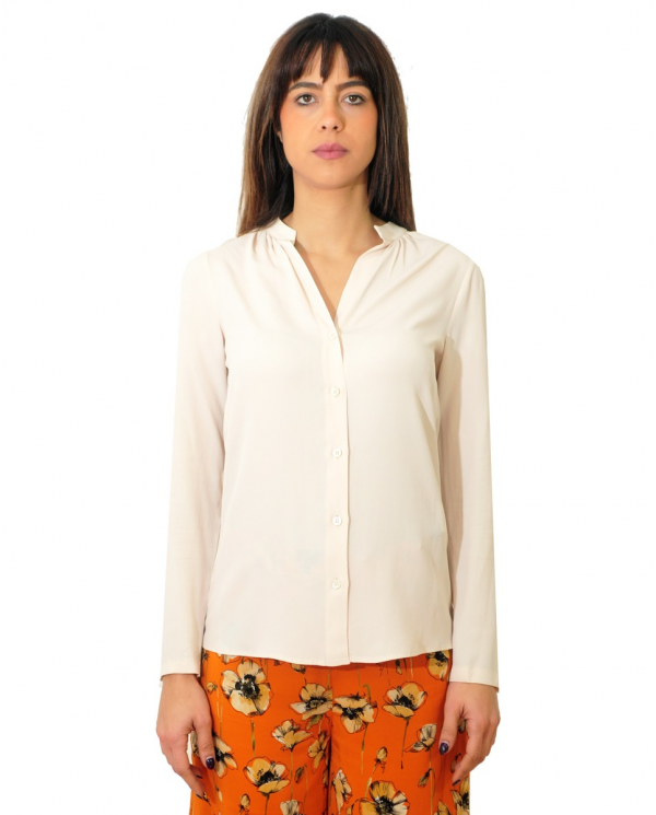 SEMI COUTURE Camicia coreana Mathilda Marmo Y0SU05.A36
