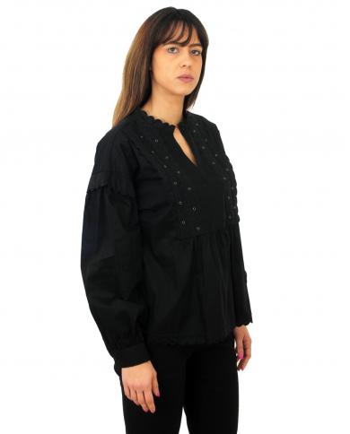 Store Cs067dptd821 Donna Dondup Andriani Pantaloni Dp126 Pk8On0w