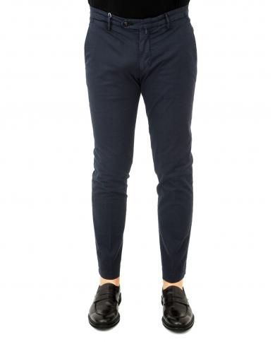 BRIGLIA Pantalone uomo Rigato blu BG04.320153 511