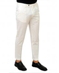 BRIGLIA Pantalone uomo bianco BG21.32046 120
