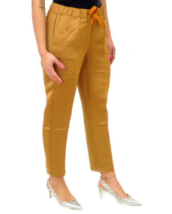 SEMI COUTURE Pantalone sigaretta Duddy Senape Y0SQ02.B46