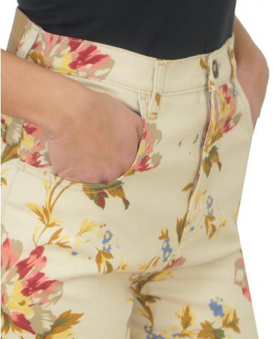 SEMI COUTURE Pantalone corto stampa Fiori Y0SY21.STP11