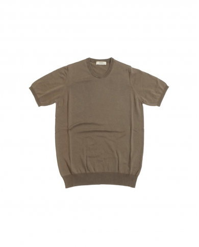 ALPHA STUDIO T-shirt in cotone basic old MILITARE AU-2010CS 8010