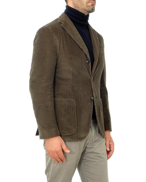 THE GIGI Giacca in velluto spigato Marrone ART. J603 510