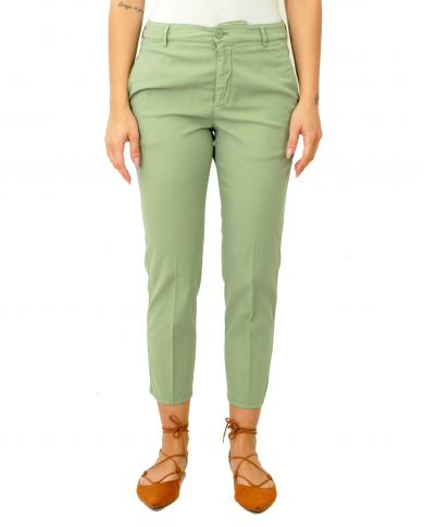 DONDUP Pantalone chino Rothka verde Salvia DP267 AS0045D PT0 606