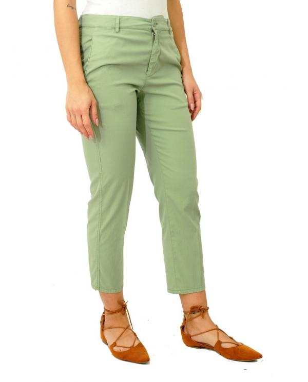 DONDUP Pantalone chino Rothka verde Salvia DP267 AS0045D PT0 606