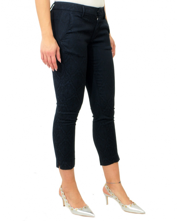 DONDUP Pantalone Rocio BLU CUPO DP429 FS0202D PTD 897