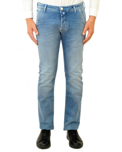JACOB COHEN Jeans tasca america denim chiaro J613 COMF.00918 W3 003