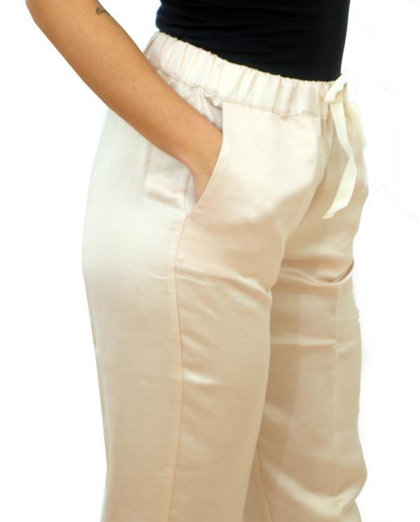SEMI COUTURE Pantalone sigaretta Duddy Marmo Y0SQ02.A36
