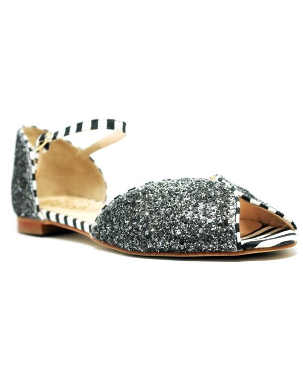 DORA Sandalo glitter grigia DA03 03.GRIGIO
