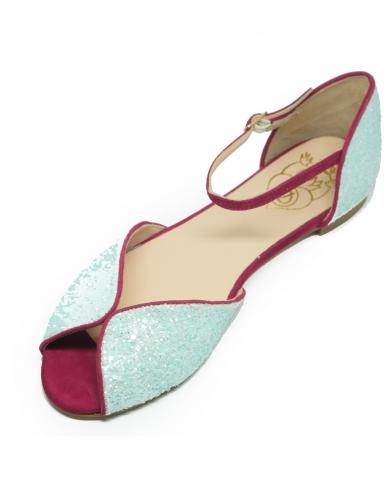 DORA Sandalo glitter Cielo DA03 02.GRIGIO