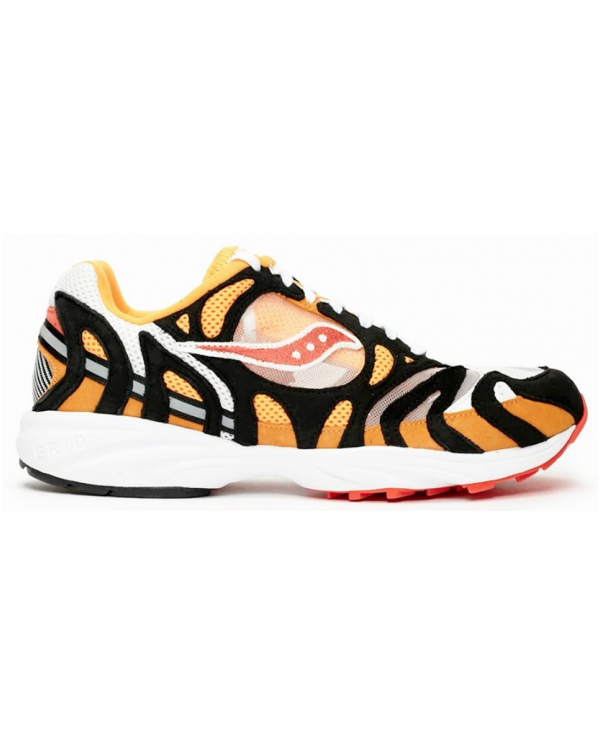 SAUCONY Sneakers GRID AZURA 2000 WHITE/ORANGE/BLACK S70491 1