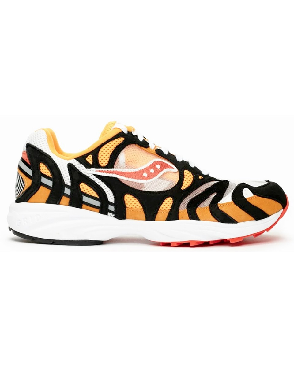 SAUCONY Sneakers GRID AZURA 2000 WHITE/ORANGE/BLACK