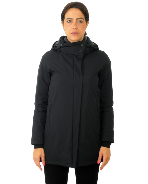 HERNO Laminar HD Piumino Donna PI080DL 11106 BLACK PI080DL 11106.9300