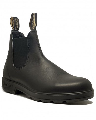 BLUNDSTONE Stivaletto black leather BLACK ELASTIC 202-BC.510