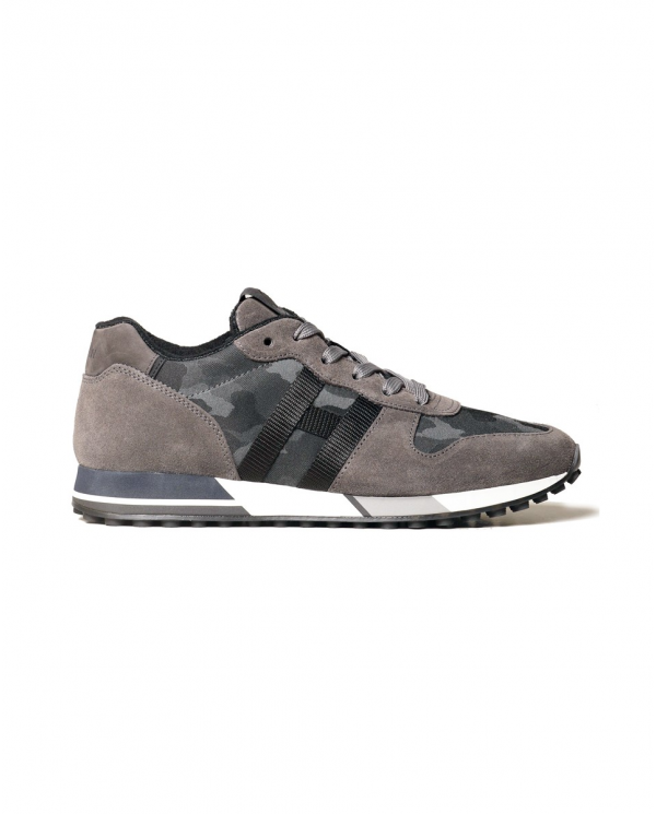 HOGAN Sneakers HOGAN NASTRO H383 in camoscio Camouflage GYM3830AN51P16.741X