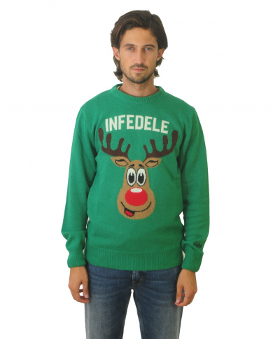 ST. BARTH Maglia con stampa INFEDELE DEER 57 HER0001.INDE57