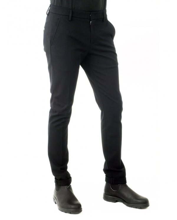 DONDUP Pantalone Gaubert NERO UP235 JSE108U XXX.999