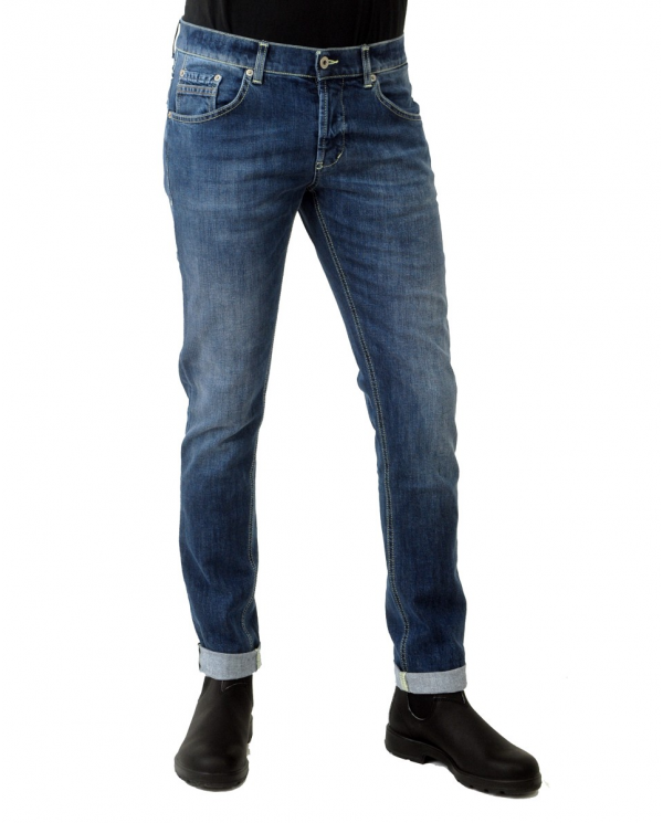 DONDUP Pantalone Ritchie BLU UP424 DS0257U AN4.800