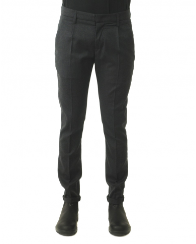 DONDUP Pantalone Gaubert Pinces ASFALTO UP517 WS0121UXXX.998