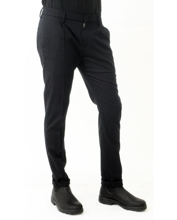 DONDUP Pantalone Gaubert Pinces NERO UP517 WS0121UXXX.999