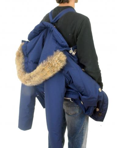 WOOLRICH Arctic Anorak BLUE IRIS CFWOOU0272MRUT0001.BIR