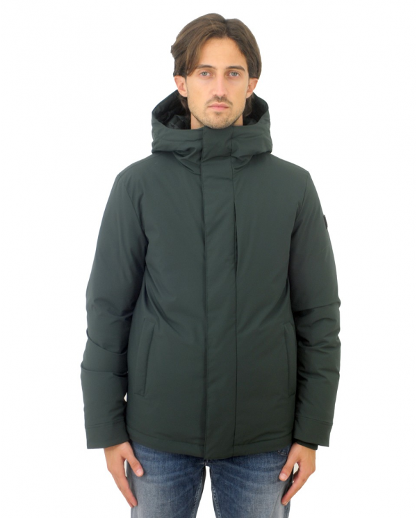 WOOLRICH Giacca Stretch Pacific DARK HOLLY GREEN CFWOOU0304MRUT0102.6518