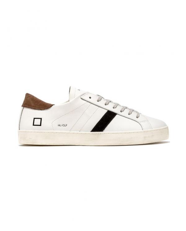D.A.T.E. Sneaker HILL LOW CALF WHITE T.TMORO M331-HL-CA