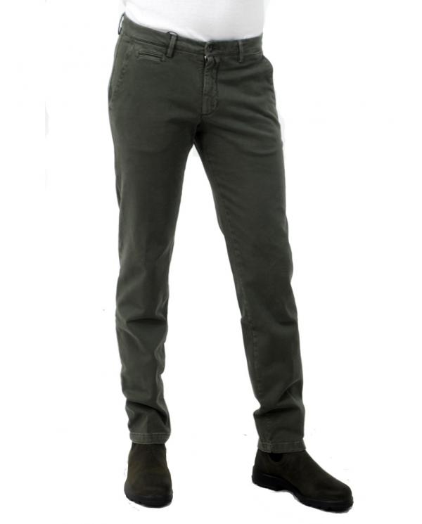 BRIGLIA Pantalone uomo verde BG05 420502.572
