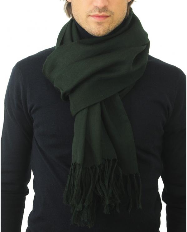 ALTEA Sciarpa uomo tinta unita verde 2060378/SC/401    .3