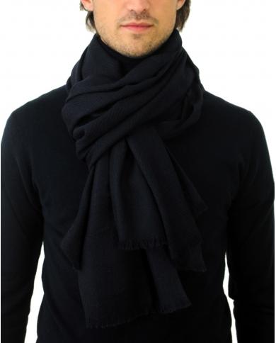 ALTEA Sciarpa uomo lana blu 2060461/SC/401    .1