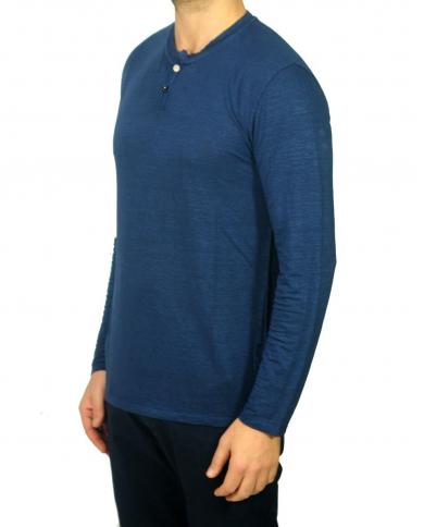 DANIELE FIESOLI Serafino manica lunga Blu DF1243.23