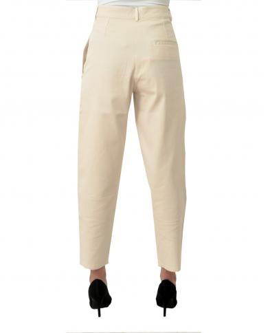 8PM Pantaloni carrot Burro D8PM01P65-A.119
