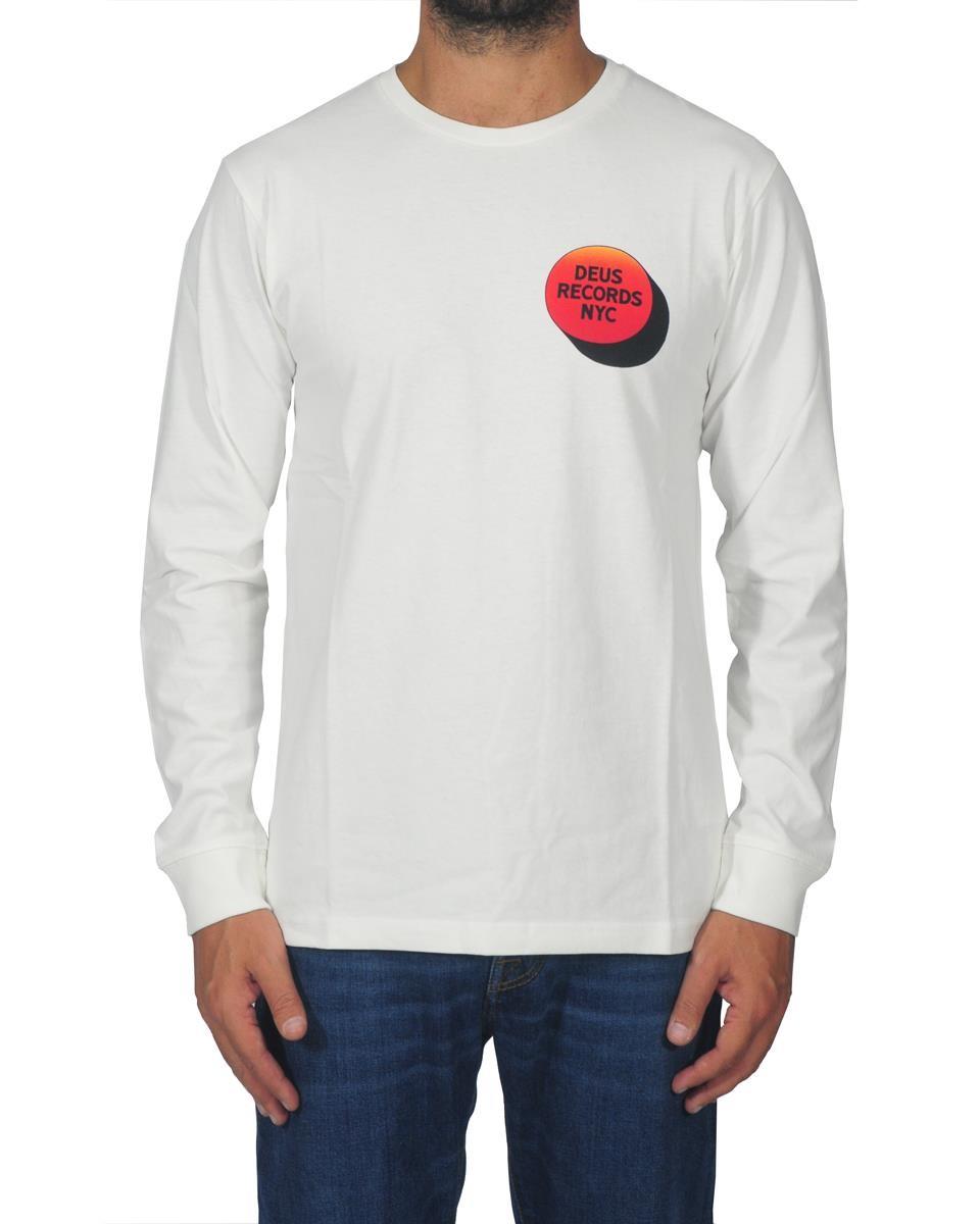 DEUS EX MACHINA T-shirt Uomo DMW71613B WHITE Bianco