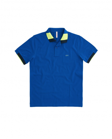 SUN 68 Polo FLUO MULTICOLOR EL Royal A31121 58
