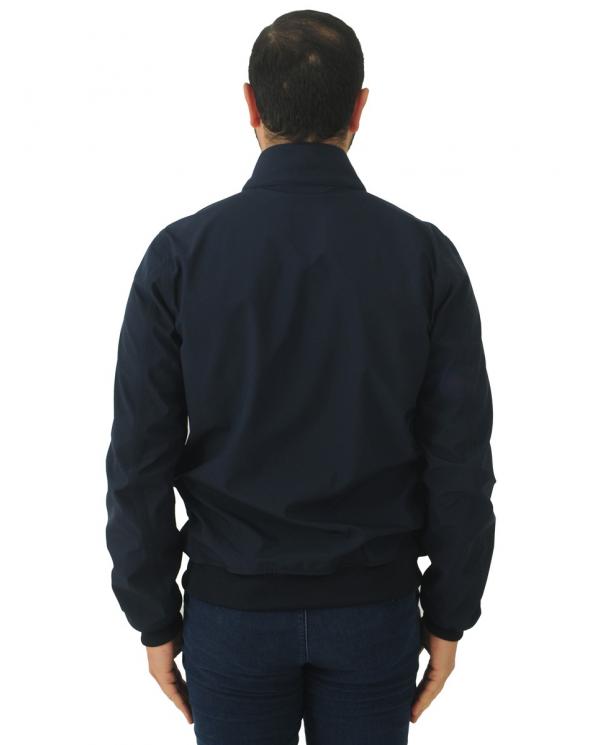 K-WAY Giubbino Arsene bonded jersey Blue Depht      K111PSW.K89