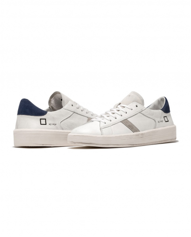 D.A.T.E. Sneakers ACE POP bianco/blu M341-AC-PO-WL