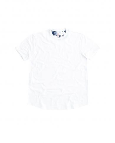 SUN 68 T-shirt round bottom Bianco T31110 01
