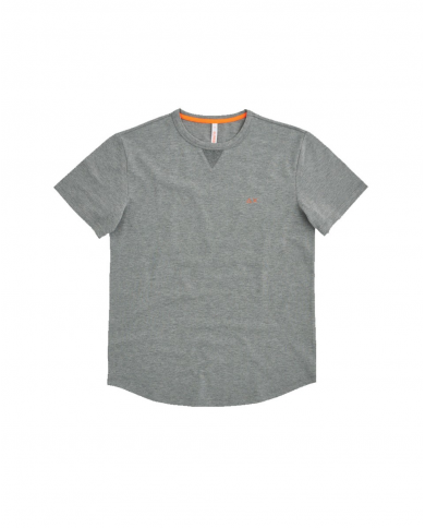 SUN 68 T-shirt solid el Grigio medio T31114 34