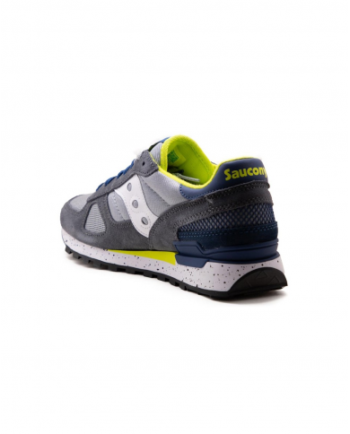 SAUCONY Sneakers Shadow Original grigio/blu/giallo S2108.773