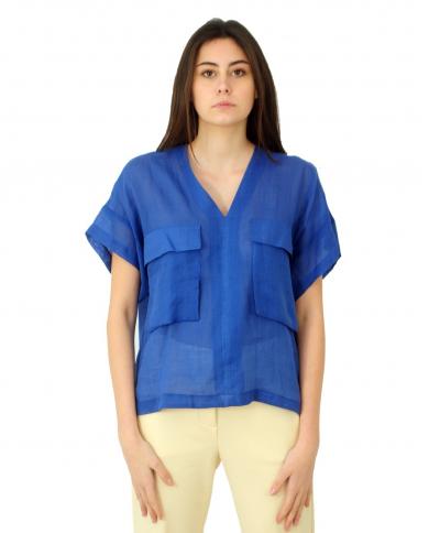 TELA Camicia PONTE Bluette