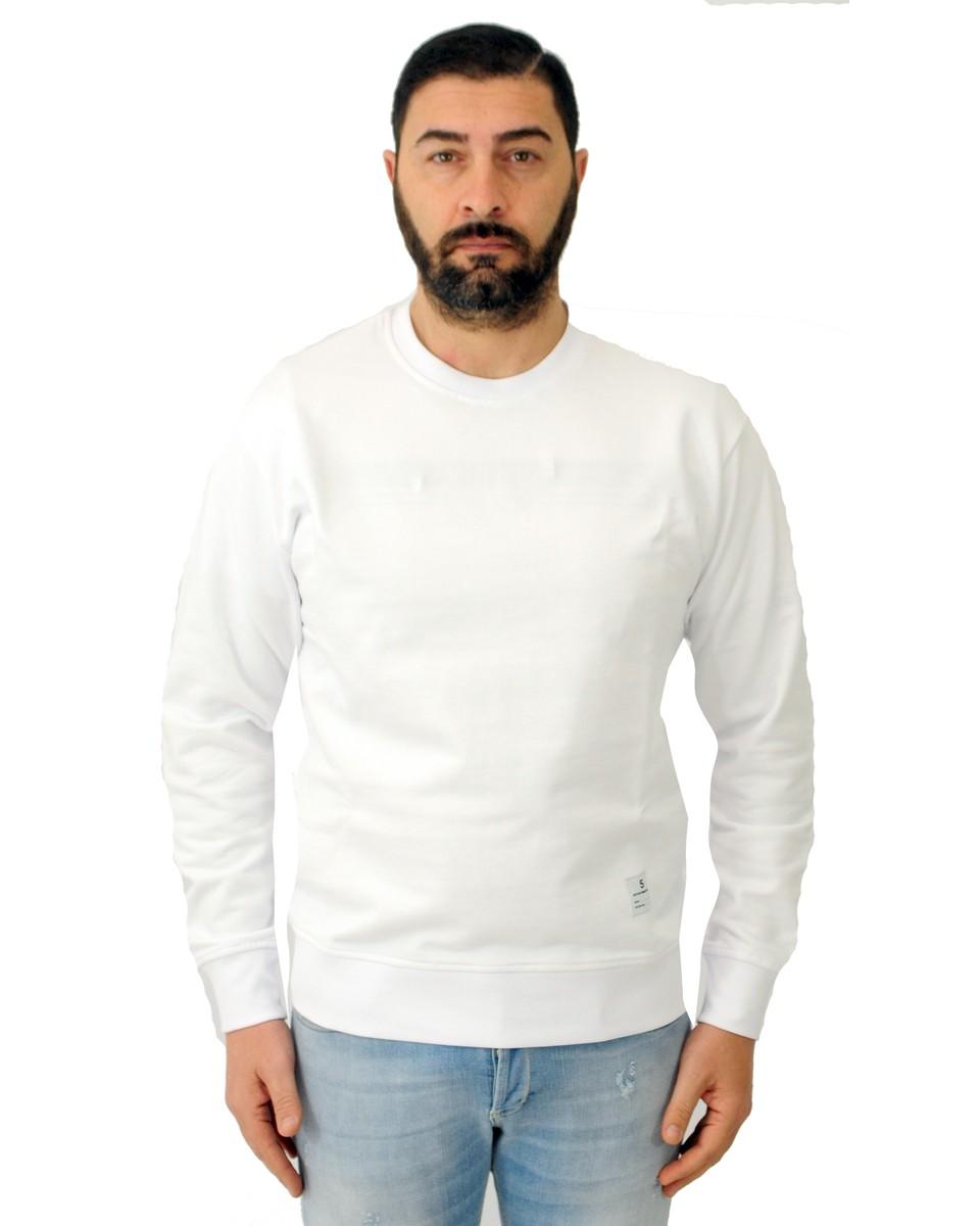 DEPARTMENT5 Felpa girocollo con stampa Bianco
