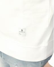 DEPARTMENT5 Felpa girocollo con stampa Bianco UF501 2FF0001.001