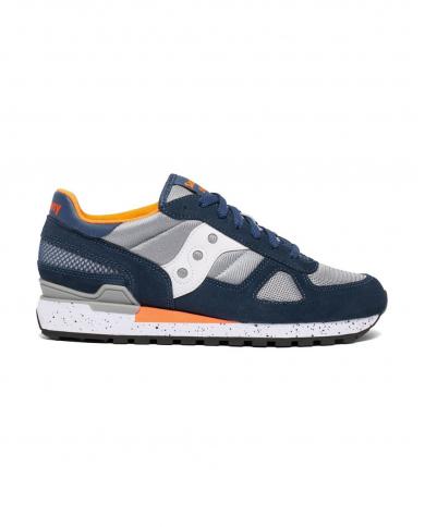 SAUCONY Sneakers Shadow Original blu/grigio/arancio S2108.772