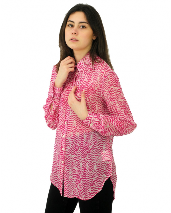 8PM Camicia Escondido Orchidea