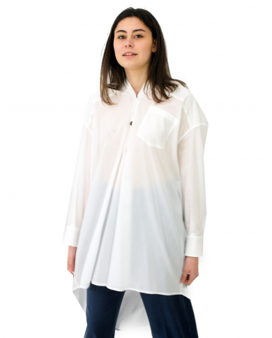 ERIKA CAVALLINI Camicia ALFONSO bianco P1SU05.A01-0
