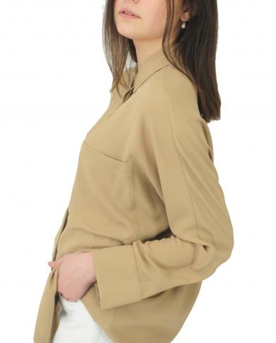 SEMI COUTURE Camicia in crepe de chine Safari Y1SU04.V62-0