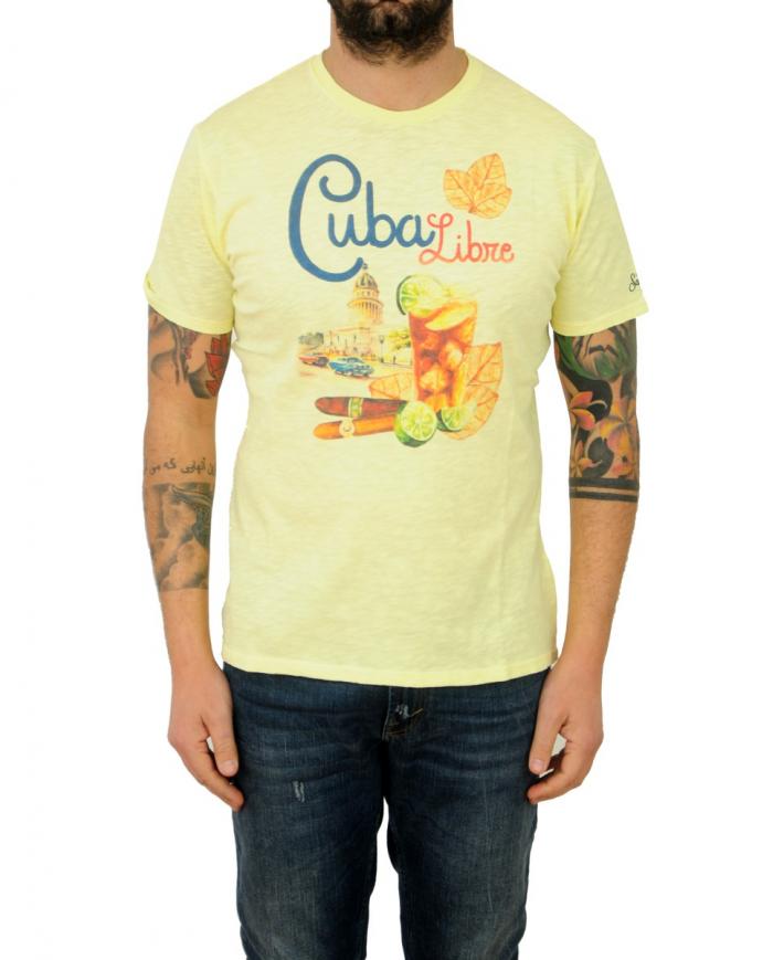 ST. BARTH T-shirt stampata Giallo SKYLAR.CULC92