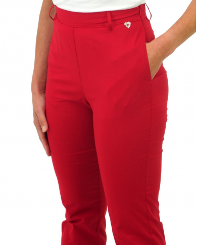 TWINSET Pantaloni Donna TS727C 034 Ciliegia TS727C.034